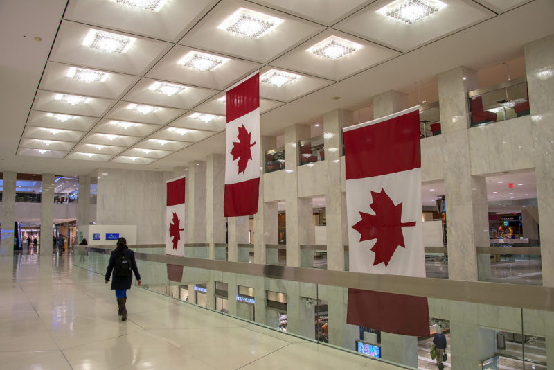 First Canadian Place Lobby